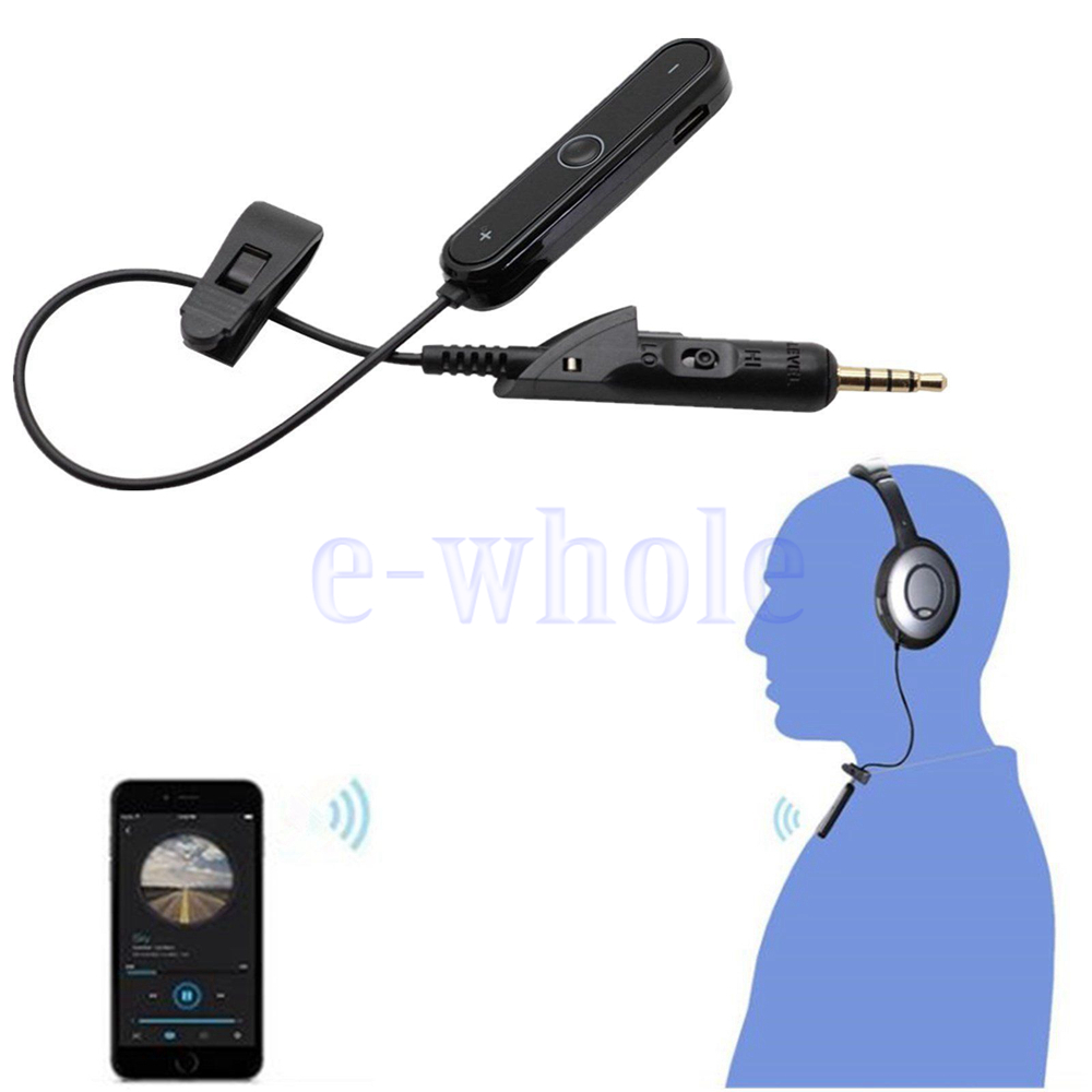 wireless receiver bluetooth adapter converter cable for bose qc2 qc15 headset gl ebay. Black Bedroom Furniture Sets. Home Design Ideas